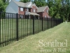 Richmond aluminum fence installation
