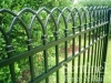 Black aluminum fence Chesterfield