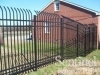 Installation of aluminum fence