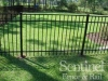 Aluminum fence from Fencing Unlimited