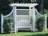 Richmond arbor installation by fence company