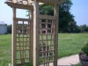 Mechanicsville arbor installation