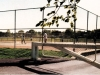 Tennis court fence by Fencing Unlimited