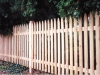 Pointed picket fence company - Richmond