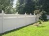 Vinyl privacy fence in Chesterfield