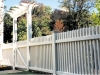 Wood arbor fence company
