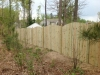 Convex fence installation by Fencing Unlimited