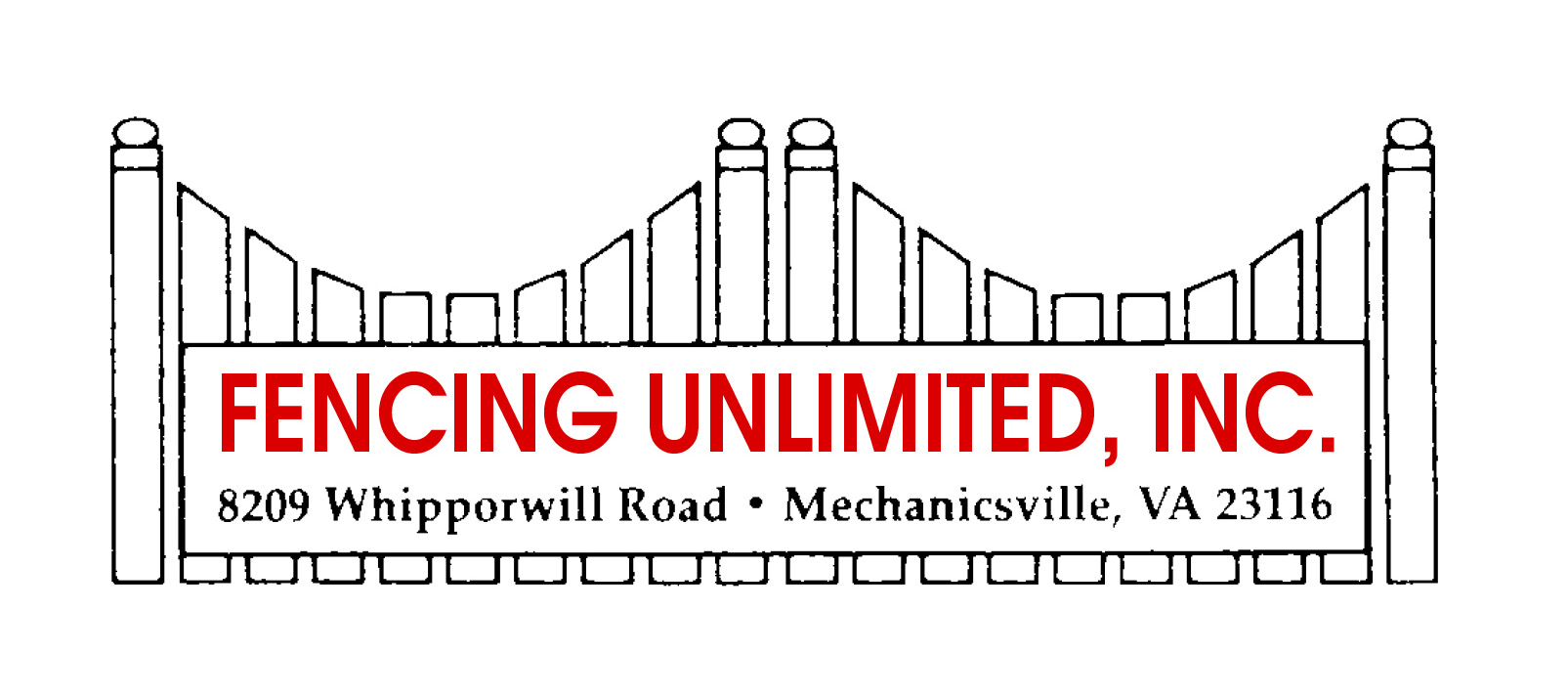 Fencing Unlimited Logo